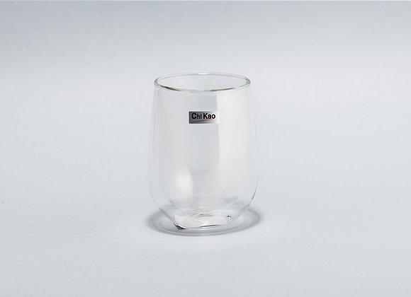 """Стеклянный стакан с двойным стеклом""""CHI KAO"""" 200мл."""
