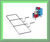Подставка металлическая для щеток и швабр Н060201 TTS Италия