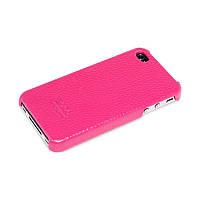 Накладка HOCO Open Face Case для iPhone 4 & 4S pink