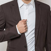 Модный мужской пиджак классический