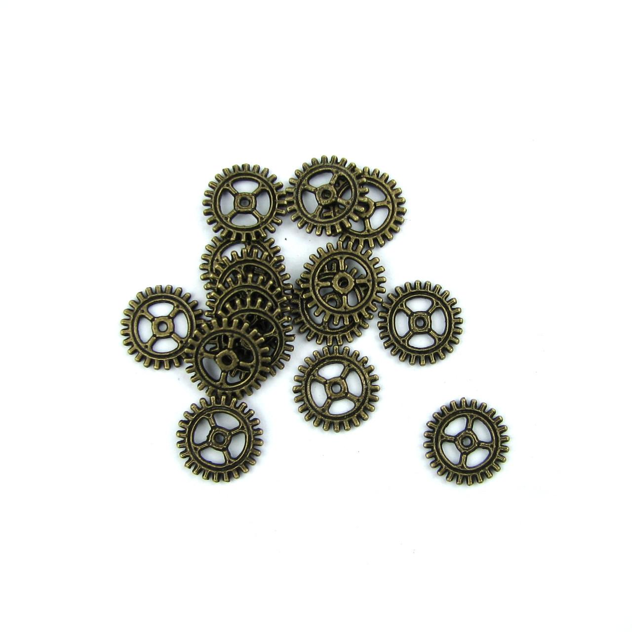 Металлические шестеренки, 10мм 10шт в наборе