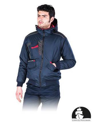 Куртка рабочая утепленная Польша (спецодежда зимняя с капюшоном) LH-DROSSEL, фото 2