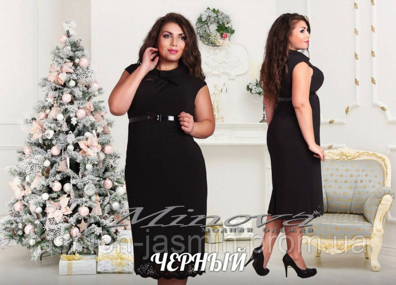 Платье №017-черный