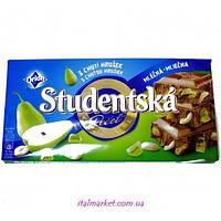 Шоколад Студенческая Груша Studentska pecet Hrusek 180г