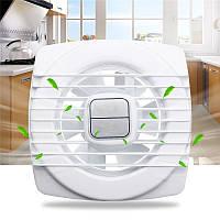 Pull Веревка Белый мини вентилятор вытяжной вентиляции стены Кухня Ванная комната Туалет вентилятор отверстие