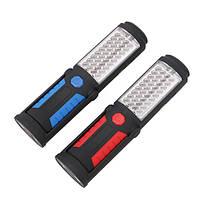Портативный 41 LED USB аккумуляторная магнитный фонарик Кемпинг Лампа для экстренных придорожных Авто Ремонт , фото 3
