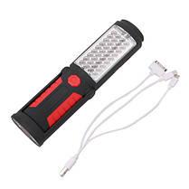 Портативный 41 LED USB аккумуляторная магнитный фонарик Кемпинг Лампа для экстренных придорожных Авто Ремонт , фото 2