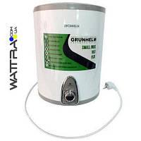 Бойлер 15 л Grunhelm GBH I-15V водонагреватель накопительный (нижнее подключение), нержавеющий бак
