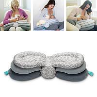 Многофункциональная подушка для кормящих грудных детей Новорожденная грудная клетка для кормления грудью Корректируемая кормящая мама д