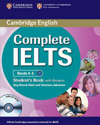 Complete IELTS Bands 4-5 Student's Book with answers and CD-ROM