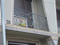 Балкон кований Б-4