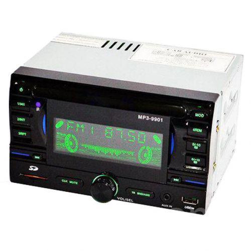 🔥✅ Автомагнитола MP3 USB AUX FM MP3-9901 2DIN с евро разъемом