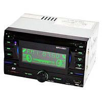 Автомагнитола MP3 USB AUX FM MP3-9901 2DIN с евро разъемом