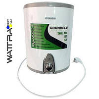 ⭐ Бойлер 10 л Grunhelm GBH I-10V водонагреватель накопительный - подключение снизу, нержавеющий бак