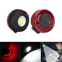Портативный 2 в 1 Mini COB LED Рабочее контрольное освещение Фонарик Магнитный ручной карманный экстренный вызов Лампа