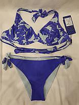 Купальник 95050 Лаура голубой с двухсторонними плавками на 46 48 50 52 54 размеры., фото 3