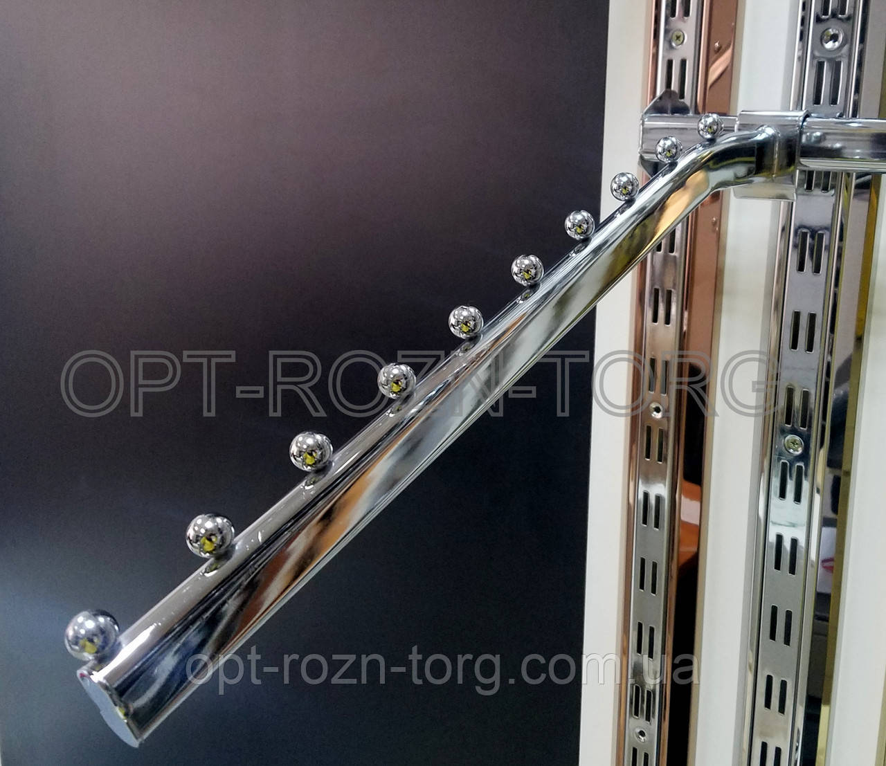 Кронштейн (Флейта) овальная на овальн.перемычку с изгибом.