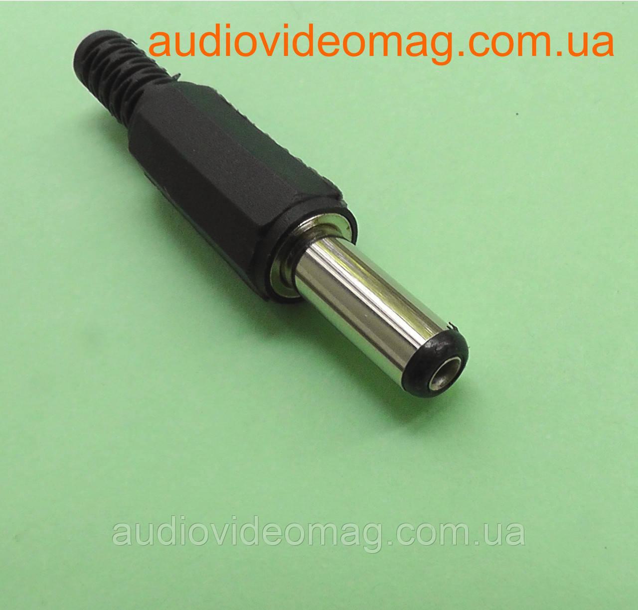 Штекер питания 5.5-2.1 мм, длина 14 мм