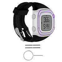 Силиконовый Наручный Стандарты Ремень+Инструменты для Garmin Forerunner 10/15 GPS Бегущие часы