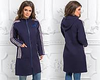 Стильное женское кашемировое пальто С, М +большие размеры