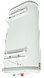 Бойлер 100 л Grunhelm GBH I-100VH FLAT водонагреватель накопительный, плоский, бак нержавейка, фото 4