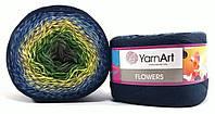 YarnArt FLOWERS №250, летняя