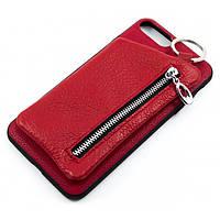 Чехол накладка Atkoj with wallet для Apple iPhone 7 Plus, iPhone 8 Plus с кошельком
