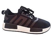 Женские черные легендарные кроссовки Adidas NMD Runner (Адидас НМД Раннер), точная копия 40 Vices