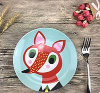 Детская Тарелка Mister Fox подарочная