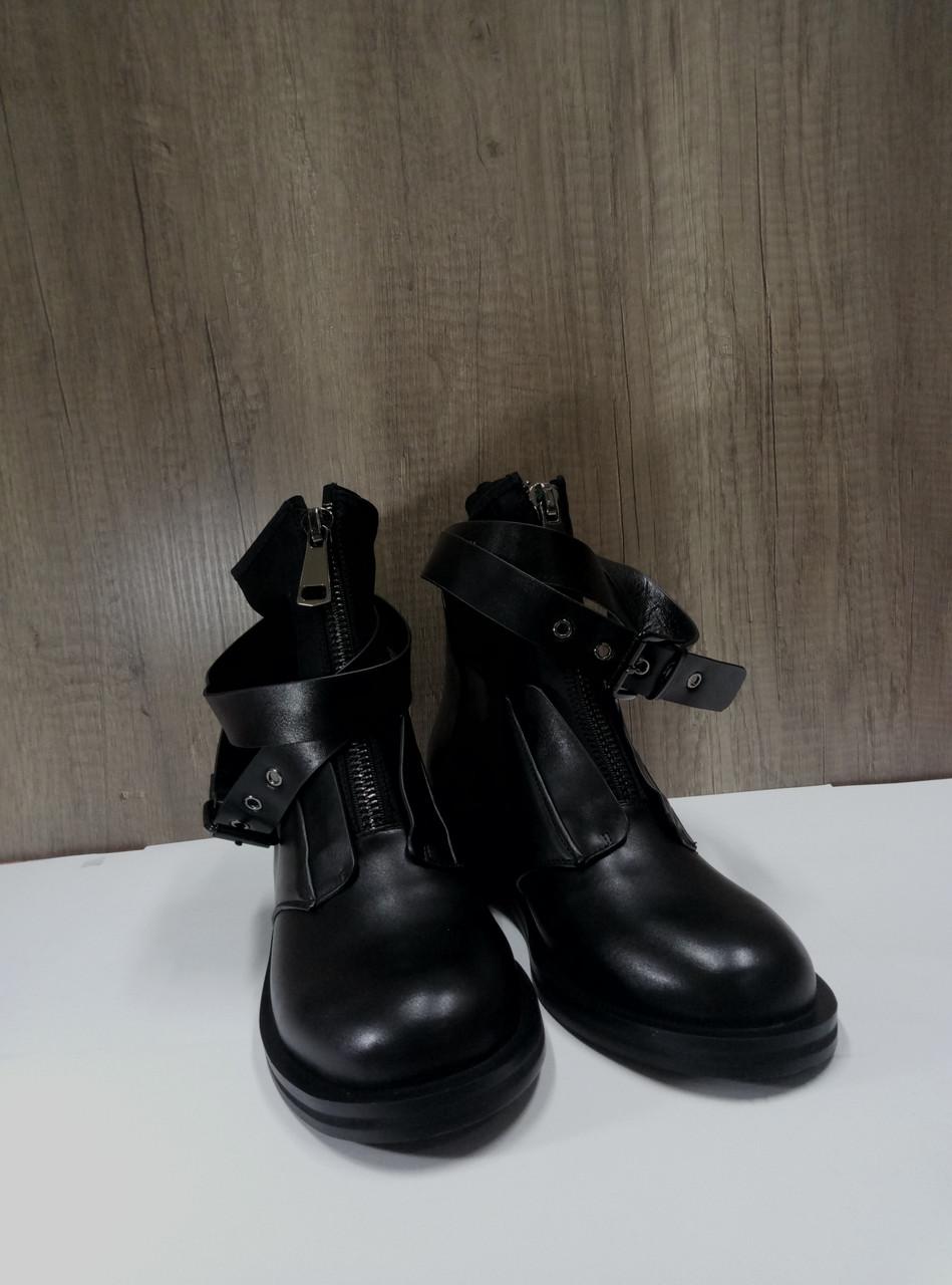 Стильные демисезонные ботинки Fabio Monelli T280-A517.
