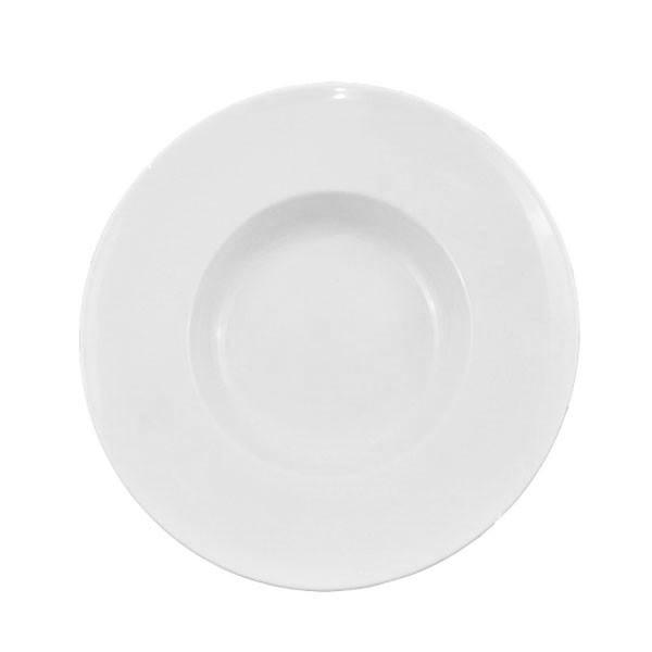 Тарелка фарфоровая глубокая 290 мм.