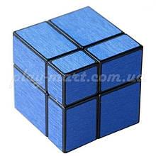 Зеркальный куб 2х2х2 синий и красный