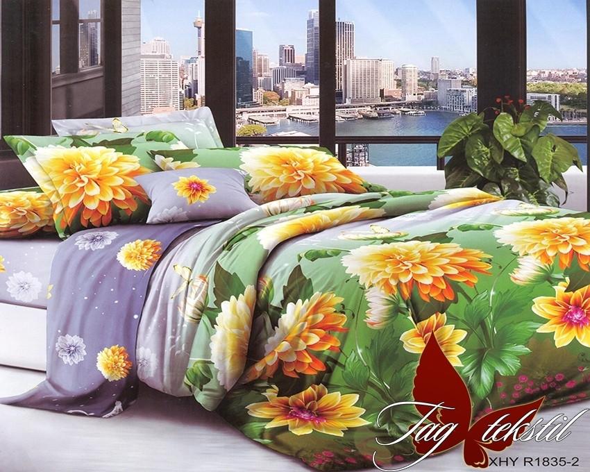 Постельное белье ТМ TAG/1.5-спальные/Поликоттон 3D XHY1835