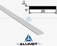 Полоса алюминиевая 20х2 мм без покрытия ПАС-1893