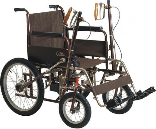 Инвалидная коляска рычажная