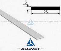 Полоса алюминиевая 25х3 мм без покрытия