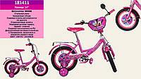 "Детский велосипед Minnie Mouse 181411 (Минни Маус) 14"""