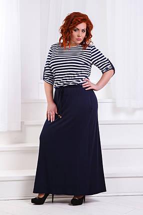 ДР1365 Платье длинное (размеры 42-56) , фото 2