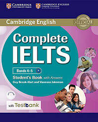 Complete IELTS Bands 4-5 Student's Book with answers and CD-ROM and Testbank