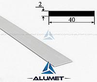 Полоса алюминиевая 40х2 мм без покрытия