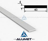 Полоса алюминиевая 40х4 мм без покрытия ПАС-1811