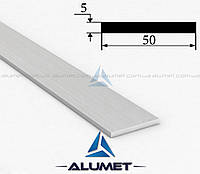 Полоса алюминиевая 50х5 мм без покрытия