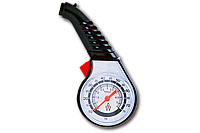 Автомобильный манометр Auto Welle AW19-10 пластик 75PSI/5,17Bar