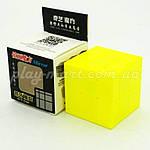 Зеркальный кубик Рубика 3х3 QiYi Mirror block Желтый и Зеленый, фото 8