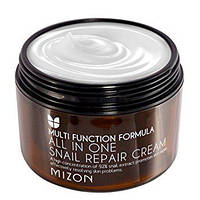 Улиточный крем Mizon All One Snail Rapair Cream 120 ml.