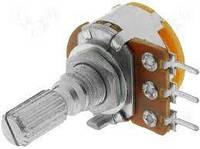 Потенциометр стерео R16110G-B10K L=20mm