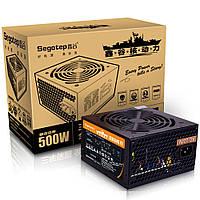 Segotep F7 500W ATX Компьютерный блок питания Настольный игровой блок питания Active Вентилятор PFC 120 мм 86% Эффективность