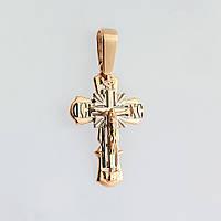 Золотой крестик п03081