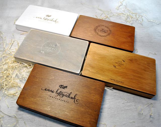 Деревянные коробки