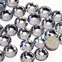 Камни Swarovski №8 белые 100 шт
